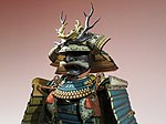 Armour of Oseki clan - neck, mask and helmet.jpg