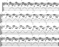 Arpeggio Study for Guitar in A major (open chords).png