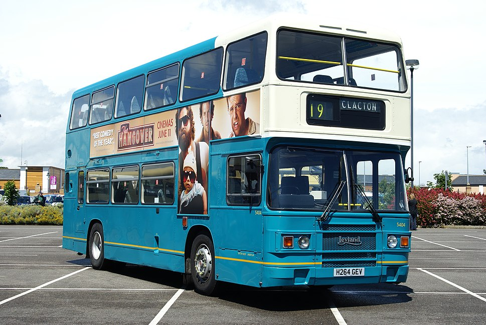 Arriva Southend bus 5404 (H264 GEV), 2009 Clacton Bus Rally