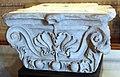 Arte antica, frammento di capitello.JPG