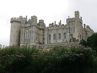 Alice FitzAlan, Countess of Kent - Arundel Castle, birthplace of Lady Alice Fitzalan and her siblings
