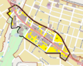 Ashland Downtown HD boundary map.png