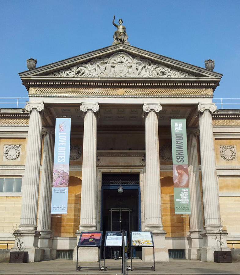Ashmolean Museum Entrance and Forecourt 2015