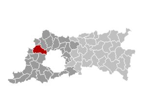 Asse - Image: Asse Locatie