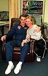 Astronaut David Wolf greets friend 2.jpg