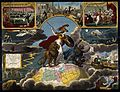 Astronomy; various apocalyptic scenes, including gout, light Wellcome V0024795.jpg