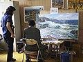 At the Mansudae Art Studio (14924710744).jpg