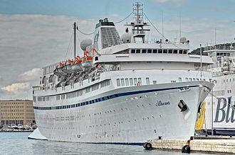 Festival Cruises - Image: Athena (ship, 1948) IMO 5383304; in Split, 2011 10 22 (2)