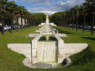 fontaine de la Porte Dorée