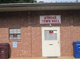 Athens, Louisiana - Athens Town Hall