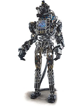 Atlas, de Boston Dynamics (ahora Google, 2013)