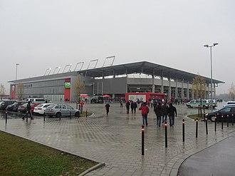Audi Sportpark - Image: Audi Sportpark Ingolstadt 2012 11 11