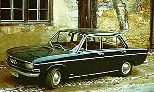 Volkswagen Group - The Audi F103, in production from 1965 to 1972