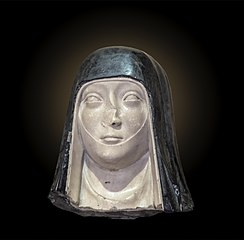 Head of nun