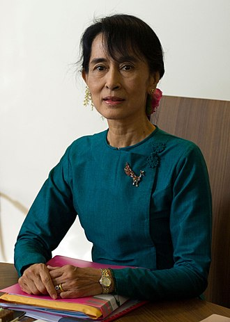 State Counsellor of Myanmar - Image: Aung San Suu Kyi December 2011 (cropped)