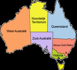 Australia locator-MJC coloured (labelled) NL.png