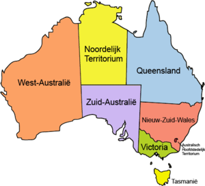 Australia locator-MJC coloured (labelled) NL.png