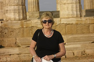 Averil Cameron - Image: Averil Cameron in Greece