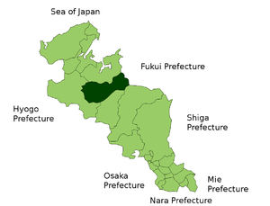 Location of Ayabe
