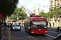 Bělehrad, Kolarčeva, trolejbus II.jpg