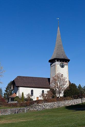 Aeschi bei Spiez - Aeschi bei Spiez Swiss Reformed church