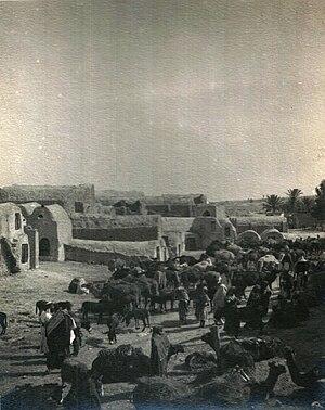 Medenine - Market in Medenine