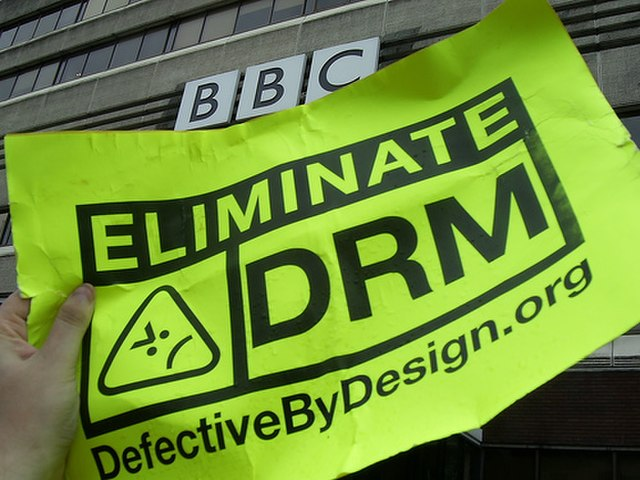 From commons.wikimedia.org: BBC Eliminate DRM {MID-165116}