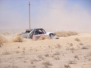 Best in the Desert - A Class 1 Buggy racing in the 2008 Vegas to Reno event