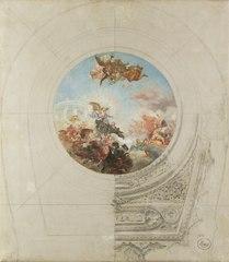 Esbós decoració cúpula