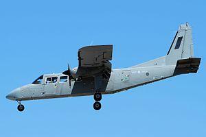 Britten-Norman BN-2 Islander - Inflight BN-2T