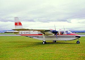 Loganair - Loganair Britten-Norman Islander in 1967