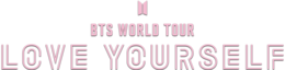 BTS World Tour Love Yourself logo.png