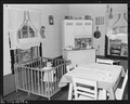 Baby of Luther Walker, miner, the Walker family consisting of two adults and baby live in a three room house for... - NARA - 540810.tif