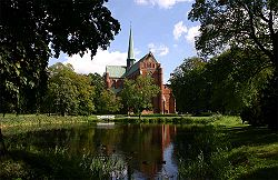 Doberan Minster, most important religious Brick Gothic heritage of Europe