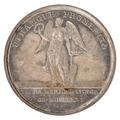 Baksida av medalj med bild av bevingad kvinna - Skoklosters slott - 99360.tif