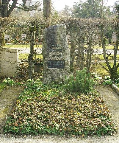 Могила М.А.Бакунина на Бремгартенском кладбище в Берне
