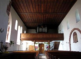 Église protestante de Balbronn - Image: Balbronn Temple 19