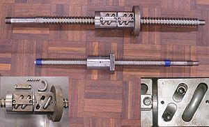 ASME B5 - Typical Ball Screw