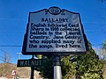 Balladry Historical Marker, Hot Springs, NC (31729992317).jpg