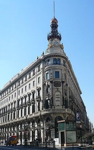 Banesto - Banco Español de Crédito, Madrid