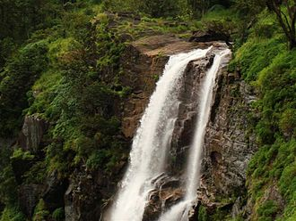 Bandaje Falls - Bandaje falls