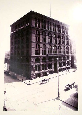 Boston Building - Image: Bank building denver historic