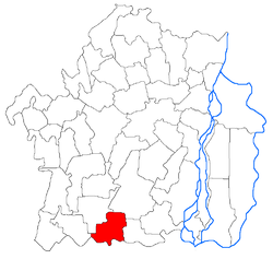 Vị trí của Baraganul