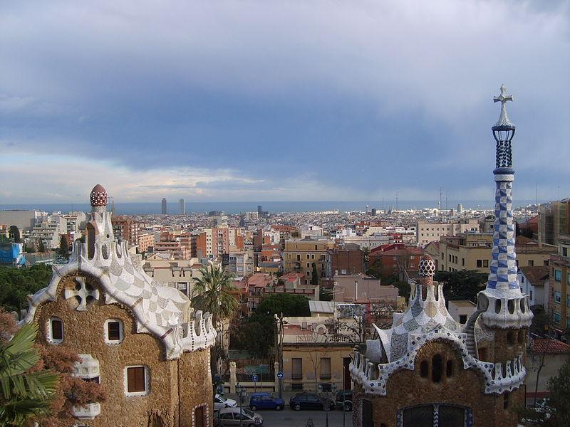 File:Barcelona in Parc Güell.JPG