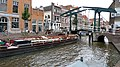 Barge and bridge, Leiden, Netherlands.jpg