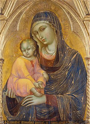 Barnaba da Modena - Madonna and Child, Städel