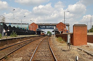 Barnsley Interchange Railway station in South Yorkshire, England