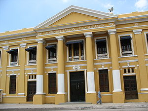 Barranquilla - Old customs administration building in Barranquilla