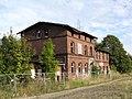 Barth Bahnhof Empfangsgebäude Schmalspurbahn Ruine 2013-09-04 4.JPG