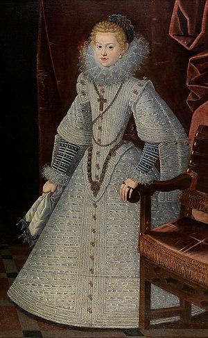 Maria Anna of Spain - Image: Bartolomé González y Serrano 006